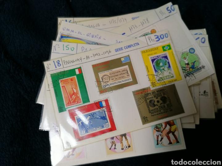Sellos: Deportes sellos 20 series mundiales en cartoncitos clasificadores - Foto 22 - 224122811