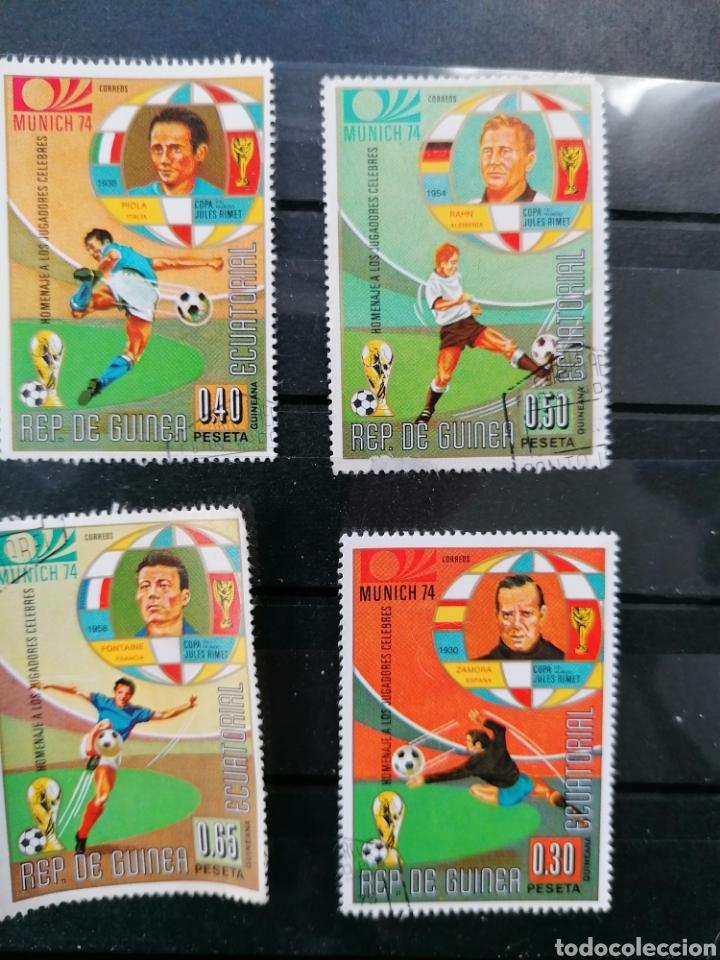 Sellos: Futbol Mundial Alemania 74 serie Guinea Ecuatorial usado - Foto 7 - 225107865