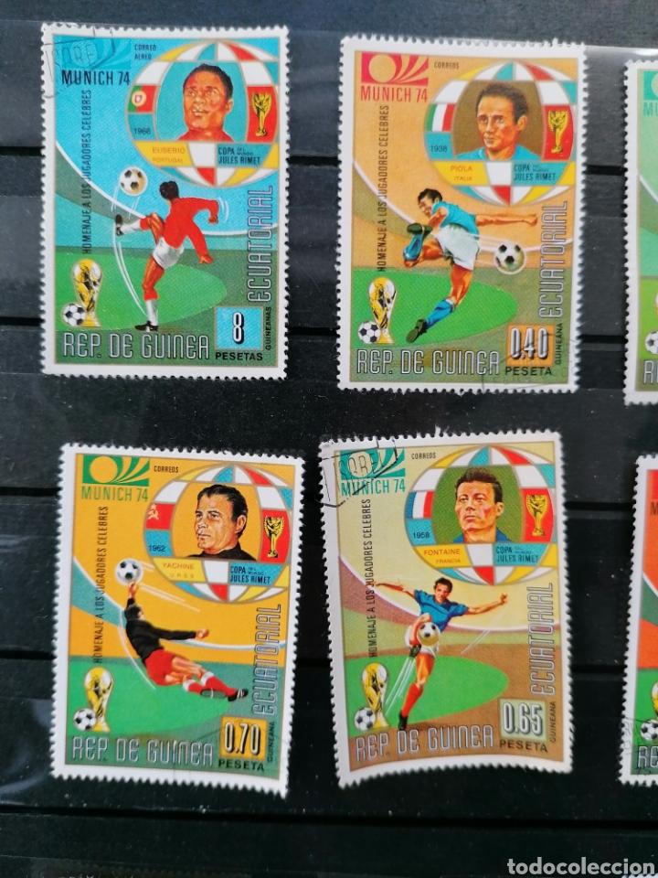 Sellos: Futbol Mundial Alemania 74 serie Guinea Ecuatorial usado - Foto 5 - 225107865