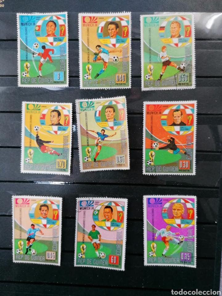 Sellos: Futbol Mundial Alemania 74 serie Guinea Ecuatorial usado - Foto 4 - 225107865