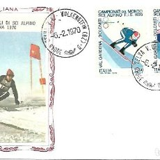 Sellos: CAMPEONATO MUNDIAL DE SKI ALPINO. SPD. ITALIA 1970. Lote 225162135