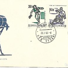 Sellos: DEPORTES. SPD. CHECOSLOVAQUIA 1963. Lote 225165060