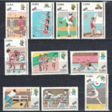 Sellos: 3492 CUBA 1991 MNH THE 11TH PAN-AMERICAN GAMES, HAVANA. Lote 228166677