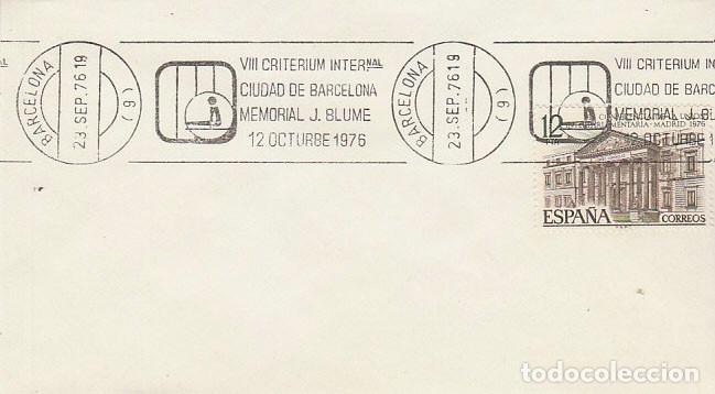 AÑO 1976, BARCELONA, CRITERIUM INTERNACIONAL JOAQUIN BLUME, RODILLO (Sellos - Temáticas - Deportes)