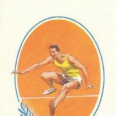 Sellos: GUINEA ESPAÑOLA Nº 378, , SALTO DE ALTURA, TARJETA MAXIMA DE 8-3-1967. MUY RARA. Lote 230402200