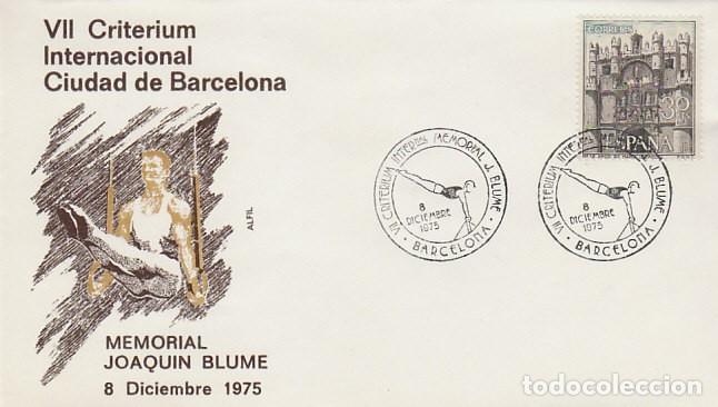 AÑO 1975, MEMORIAL JOAQUIN BLUME, SOBRE DE ALFIL (Sellos - Temáticas - Deportes)