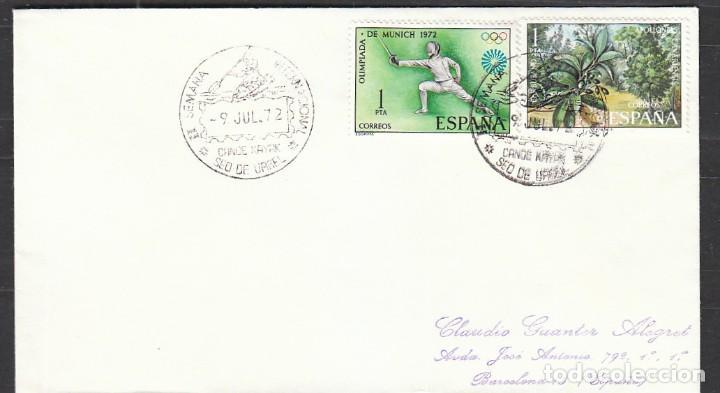 AÑO 1972, CANOE KAYAK, SEMANA INTERNACIONAL EN LA SEO DE URGELL (LLEIDA) (Sellos - Temáticas - Deportes)