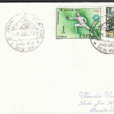 Sellos: AÑO 1972, CANOE KAYAK, SEMANA INTERNACIONAL EN LA SEO DE URGELL (LLEIDA). Lote 230412285