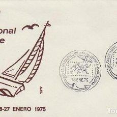 Sellos: AÑO 1975, SALON NAUTICO DE BARCELONA, EN SOBRE DE ALFIL. Lote 230412715