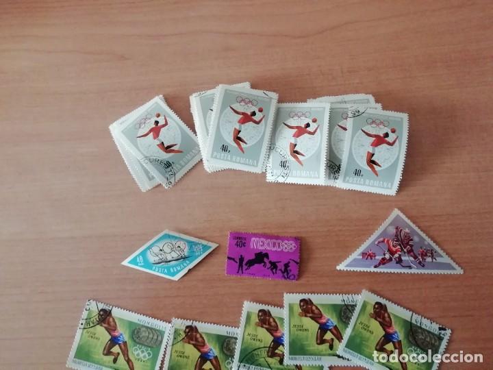 Sellos: Sellos temática deportes (lote 3). Ver imágenes - Foto 2 - 235870255