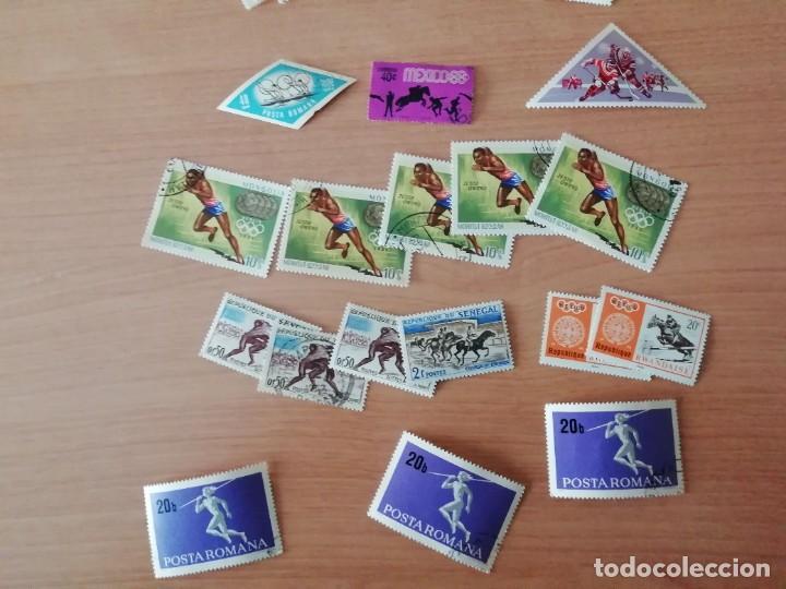 Sellos: Sellos temática deportes (lote 3). Ver imágenes - Foto 3 - 235870255