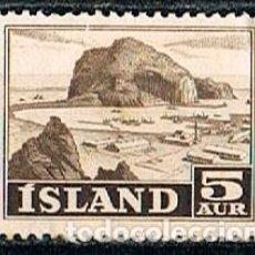 Sellos: ISLANDIA IVERT Nº 254, PUERTO PESQUERO, NUEVO ***. Lote 240710630