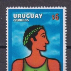 Sellos: URUGUAY 1998 THE 61ST WORLD CONGRESS OF SPORTS JOURNALISM MNH - SPORT, JOURNALISTS, JOURNALISM. Lote 241512545