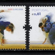 Francobolli: PORTUGAL 3245/46** - AÑO 2008 - CAMPEONATO DE EUROPA DE JUDO. Lote 243417115