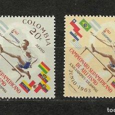Sellos: COLOMBIA Nº 433 AL 434 (**). Lote 243600425