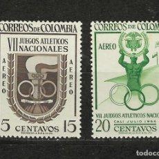 Sellos: COLOMBIA Nº 256 AL 257(**). Lote 243601035