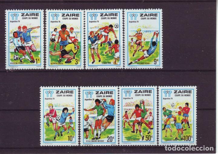 ZAIRE 1978 IVERT 909/16 *** CAMPEONATO DEL MUNDO DE FUTBOL - ARGENTINA-78 - DEPORTES (Sellos - Temáticas - Deportes)