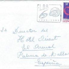Sellos: 1993. LUXEMBURGO. RODILLO. 60º ANIV. FEDERACIÓN LUXEMBURGUESA DE BALONCESTO. BASKETBALL. DEPORTES.. Lote 246005405