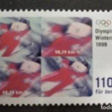 Sellos: ALEMANIA 1998***MNH. WINTER OLYMPIC GAMES - 1998 NAGANO. Lote 249242385
