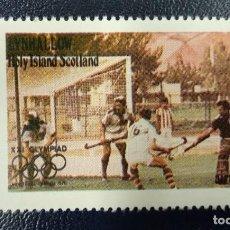 Sellos: EYNHALLOW HOLY ISLAND, SCOTLAND. XXI OLYMPIAD MONTREAL CANADA 1976. **MNH. Lote 253868275