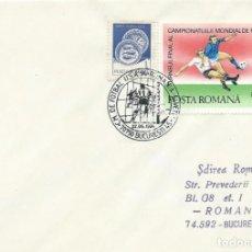 Sellos: 1994. RUMANIA/ROMANIA. MATASELLOS/POSTMARK. C.M. FÚTBOL USA. RUMANIA-SUIZA. FOOTBALL WORLD CUP.. Lote 261923880