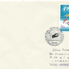 Sellos: 1994. RUMANIA/ROMANIA. MATASELLOS/POSTMARK. C.M. FÚTBOL USA. RUMANIA-SUECIA. FOOTBALL WORLD CUP.. Lote 261949605