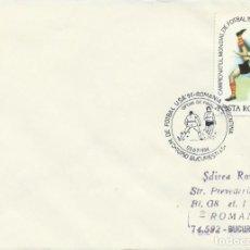 Sellos: 1994. RUMANIA/ROMANIA. MATASELLOS/POSTMARK. C.M. FÚTBOL USA. RUMANIA-ARGENTINA. FOOTBALL WORLD CUP.. Lote 261949820