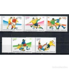 Sellos: ⚡ DISCOUNT CUBA 1997 FOOTBALL WORLD CUP - FRANCE MNH - SPORT, FOOTBALL, SOCCER WORLD CUP. Lote 268833764