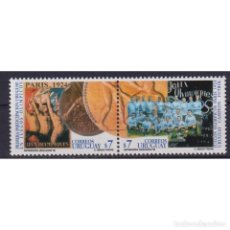 Sellos: ⚡ DISCOUNT URUGUAY 1999 THE 75TH ANNIVERSARY OF THE VICTORY OF THE URUGUAY FOOTBALL TEAM IN OL. Lote 268836114