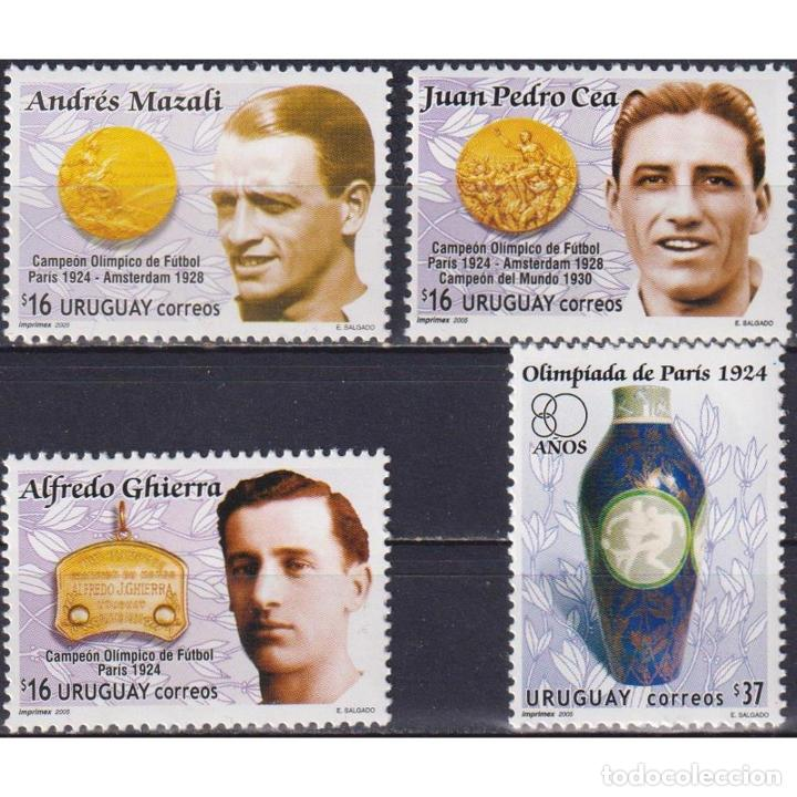 ⚡ DISCOUNT URUGUAY 2005 OLYMPIC ATHLETES MNH - OLYMPIC GAMES (Sellos - Temáticas - Deportes)