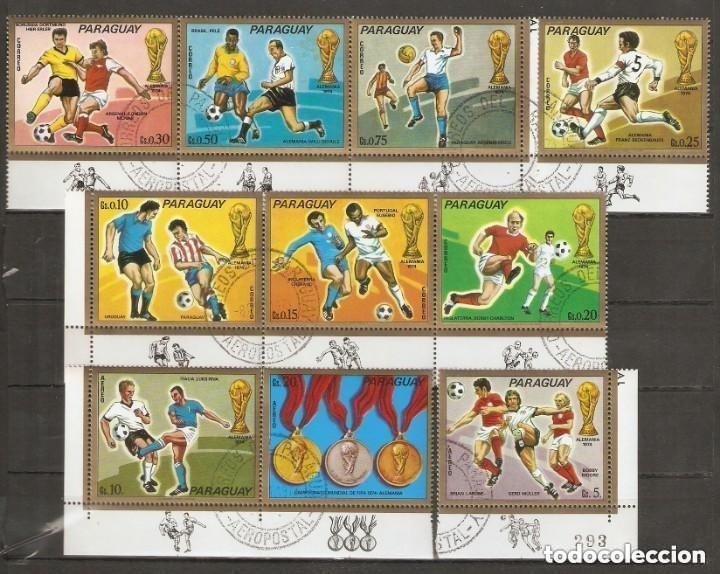 PARAGUAY. COPA MUNDIAL DE FÚTBOL ALEMANIA 1974.DEPORTES (Sellos - Temáticas - Deportes)