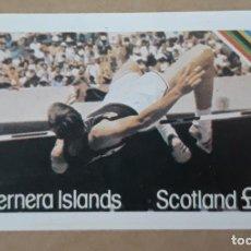 Sellos: BERNERA ISLANDS. OLIMPIADAS DE MOSCÚ 1980. ATLETISMO. DEPORTES. Lote 274192698