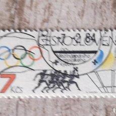 Sellos: CHECOSLOVAQUIA USADO.1984. ANIVERSARIO COMITÉ OLÍMPICO INTERNACIONAL. Lote 277625083