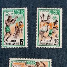 Sellos: DEPORTES SELLOS NIGERIA YVERT SERIE NUEVO. Lote 284430408