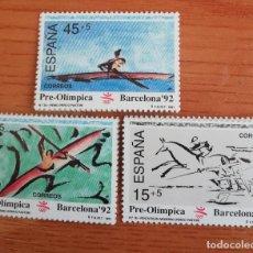 Sellos: SELLOS ESPAÑA 1991 BARCELONA' 92 SERIE PRE-OLIMPICA. Lote 288645433