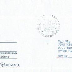 Sellos: 1996. ITALIA/ITALY. MATASELLOS P.D. JUEGOS DEL MEDITERRÁNEO BARI'97/MEDITERRANEAN GAMES. DEPORTES.. Lote 289557153