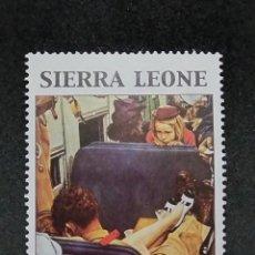 Sellos: SELLO TEMÁTICO SIERRA LEONA ** - BOL 44. Lote 296751718