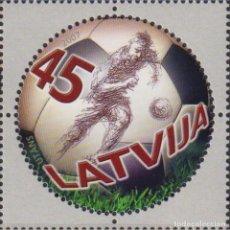 Sellos: ⚡ DISCOUNT LATVIA 2007 FOOTBALL MNH - FOOTBALL. Lote 297143063