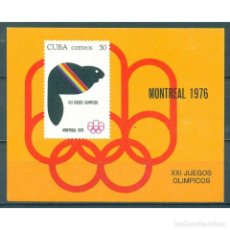 Sellos: ⚡ DISCOUNT CUBA 1976 OLYMPIC GAMES - MONTREAL, CANADA NG - SPORT, OLYMPIC GAMES. Lote 297144288