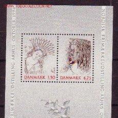 Sellos: DINAMARCA HB 9** - AÑO 1992 - EXPOSICIÓN FILATÉLICA INTERNACIONAL, NORDIA 94. Lote 25916366