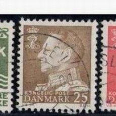 Sellos: DINAMARCA 1963. BÁSICOS: VALOR Y FEDERICO IX. Lote 814286
