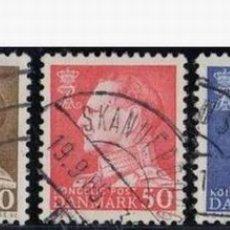 Sellos: DINMARCA 1965. BÁSICOS: FEDERICO IX. Lote 814413