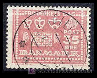 DINAMARCA 1964. 25 ANIVERSARIO DEL DÍA DEL SELLO (Sellos - Extranjero - Europa - Dinamarca)