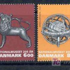 Sellos: DINAMARCA 2007.- 200 AÑOS MUSEO NACIONAL DIMANARCA.- ARQUEOLOGIA, ARMAS, MASCARAS DE BORNEO. Lote 26968912