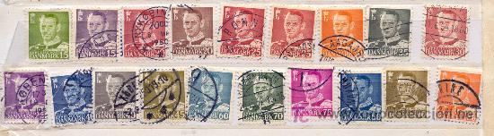 DINAMARCA 1948-56. REY FEDERICO IV (Sellos - Extranjero - Europa - Dinamarca)