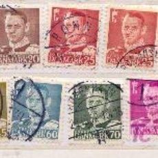 Sellos: DINAMARCA 1948-56. REY FEDERICO IV. Lote 8173622