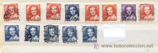 DINAMARCA 1982-1985. REINA MARGARITA II (Sellos - Extranjero - Europa - Dinamarca)