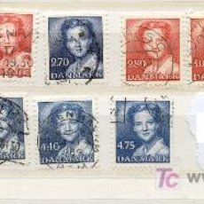 Sellos: DINAMARCA 1982-1985. REINA MARGARITA II. Lote 8202185