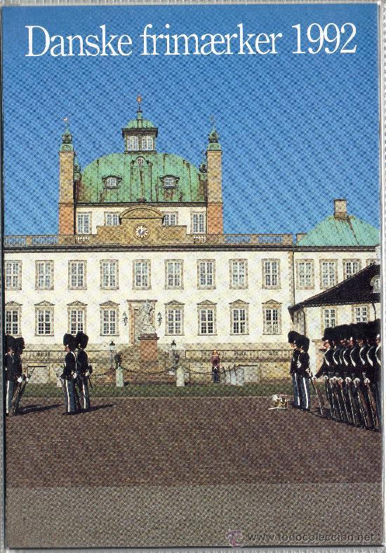 DINAMARCA AÑO 1992 COMPLETO*** EN CARPETA OFICIAL (VER FOTOS) (Sellos - Extranjero - Europa - Dinamarca)