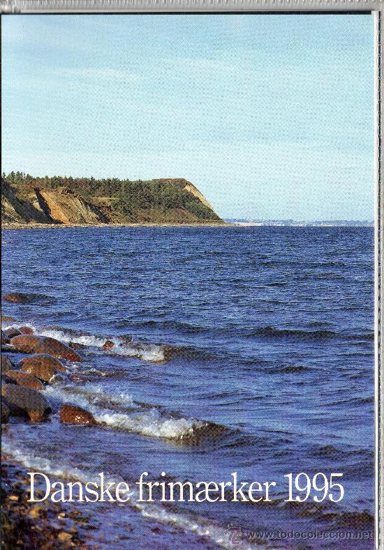 DINAMARCA AÑO 1995 COMPLETO NUEVO*** EN CARPETA OFICIAL (VER FOTOS) (Sellos - Extranjero - Europa - Dinamarca)
